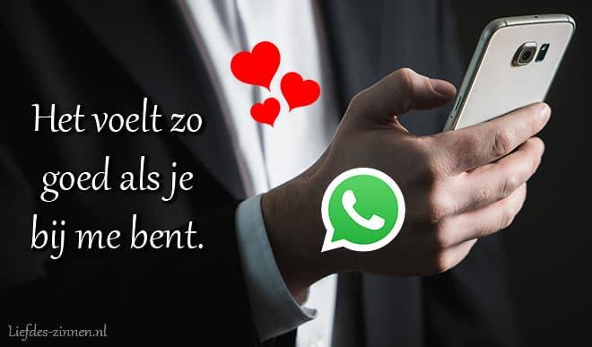 Liefdes teksten voor WhatsApp
